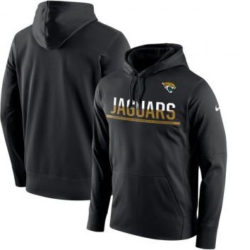 c5ef944c38d4a Jacksonville jaguares Nike Sideline negra circuito Jersey Performance  sudadera con capucha de los hombres