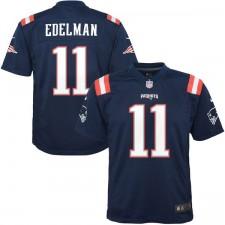 1732aa32ea1f1 Juventud Nueva. camisetas-new-england-patriots. Disponible. Juventud Nueva  Inglaterra Patriots Julian Edelman Nike Color azul marino ...