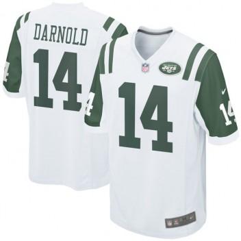 Los hombres de Nueva York jets Sam Darnold Nike blanco 2018 NFL Proyecto  juego de selección 3246671390b