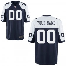 Nike Hombres Dallas Cowboys personalizados retroceso Juego Camiseta
