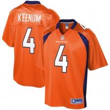 Jóvenes Denver Broncos caso keeno NFL Pro línea Orange Equipo color Camiseta