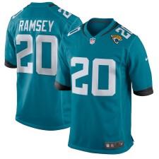 Los hombres de Jacksonville jaguares Jalen Ramsey Nike Teal nuevo 2018 juego camisetas