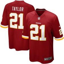 Hombres Washington Redskins Sean Taylor Nike Borgoña jubilado jugador juego Camiseta
