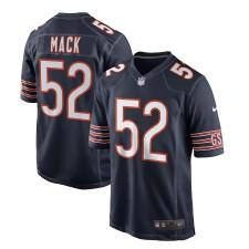 Jóvenes Chicago Bears Khalil Mack Nike Navy juego Camiseta