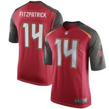 Los hombres de Tampa Bay bucaneros Ryan Fitzpatrick Nike rojo juego Camiseta
