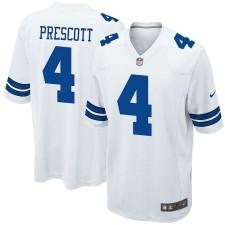 Jóvenes Dallas Cowboys DAK Prescott Nike blanco juego Camiseta