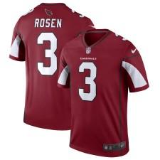 Cardenales de Arizona Varonil Josh Rosen Nike leyenda cardenal Camiseta