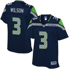 Pro Line Mujeres Seattle Seahawks Russell Wilson Equipo Color Camiseta
