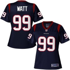 Pro Line Mujeres Houston Texans J.J. Watt Equipo Color Camiseta