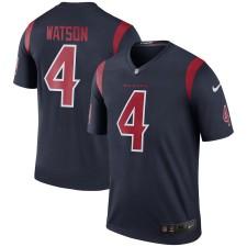 Hombres Houston Texans Deshaun Watson Nike Navy Color Rush Leyenda Camiseta