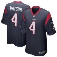 Hombres Houston Texans Deshaun Watson Nike Navy Juego Camiseta