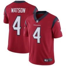 Hombres Houston Texans Deshaun Watson Nike Rojo Vapor Intocable Limitada Camiseta