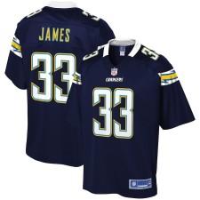 Hombres Los Angeles Chargers Derwin James NFL Pro Line Navy Jugador Camiseta