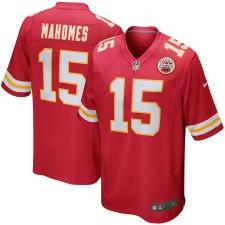 Kansas City Chiefs de los hombres Patrick Mahomes de juego Nike red camiseta