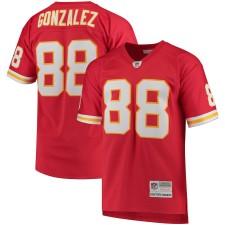 Hombres Kansas City Chiefs Tony Gonzalez Mitchell & Ness Rojo Retirado Jugador Réplica Camiseta