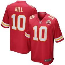 Hombres Kansas City Chiefs Tyreek Hill Nike Rojo Juego Camiseta