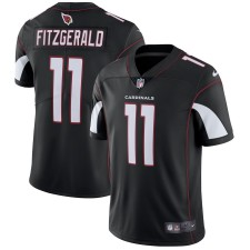 Hombres Arizona Cardinals Larry Fitzgerald Nike negro vapor intocable limitada camiseta