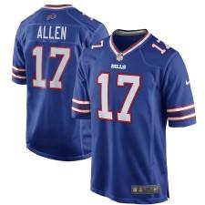 Hombres Buffalo Bills Josh Allen Nike Royal juego Camiseta