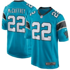 Hombres Carolina. camisetas-carolina-panthers. Disponible. Hombres Carolina  Panthers Christian McCaffrey Nike azul juego ... 156c448fcc6