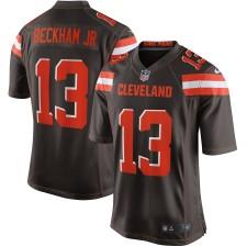 Hombres Cleveland Browns Odell Beckham Jr Nike Marrón Juego Camiseta