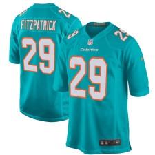 Hombres Miami Dolphins Minkah Fitzpatrick Nike Aqua Juego Camiseta
