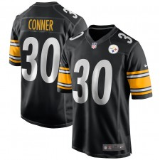 Hombres Pittsburgh Steelers James Conner Nike Negro Juego Camiseta