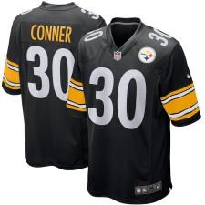 Juventud Pittsburgh Steelers James Conner Nike Negro Juego Camiseta