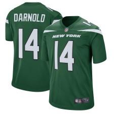 Los hombres New York jets Sam Darnold Nike Verde Jugador juego Camiseta