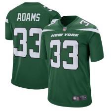 Los hombres New York jets Jamal Adams Nike jugador verde juego Camiseta