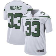 Hombres New York jets Jamal Adams Nike Blanco Jugador juego Camiseta