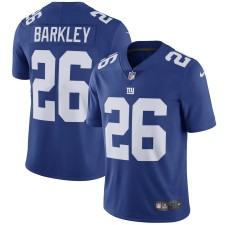 Hombres New York Giants Saquon Barkley Nike Royal Equipo Color Vapor Intocable Limitada Camiseta