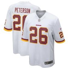 Hombres Washington Redskins Adrian Peterson Nike jugador blanco juego Camiseta