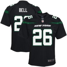 Jóvenes New York jets Le'Veon Bell Nike negro jugador juego Camiseta