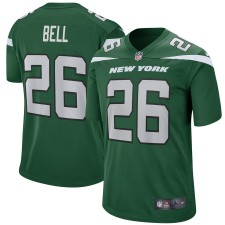 Jóvenes New York jets Le'Veon Bell Nike Gotham Verde juego Camiseta