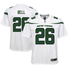 Juventud New York Jets Le'Veon Bell Nike Spotlight Blanco Juego Camiseta