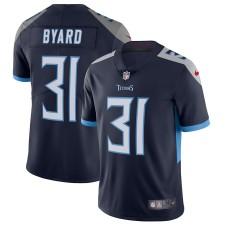 Hombres Tennessee Titans Kevin Byard Nike Marina Vapor Intocable Limitada Camiseta