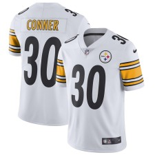 Hombres Pittsburgh Steelers James Conner Nike Blanco Vapor Intocable Limitada Camiseta