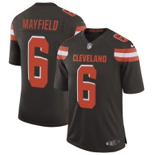 Hombres Cleveland Browns Baker Mayfield Nike Brown Velocidad Máquina Limitada Camiseta