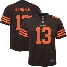 Juventud Cleveland Browns Odell Beckham Jr Nike Brown Color Apuro Jugador Camiseta