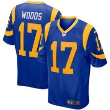 Hombres Los Angeles Rams Robert Woods Nike Real Juego Camisetas