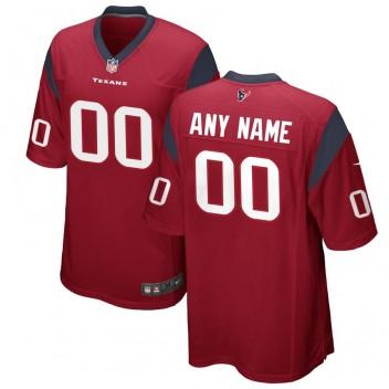 Houston Texans Nike personalizado juego alternativo Camisetas - Rojo