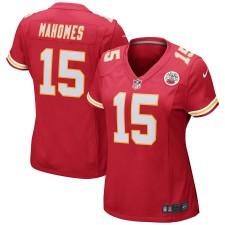 Mujeres Kansas City Chiefs Patrick Mahomes Nike Rojo Juego Camisetas