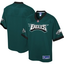 Philadelphia Eagles NFL Pro Line Front Hit Fashion Camisetas - Medianoche Verde