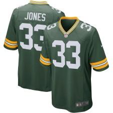 Hombres Green Bay Packers Aaron Jones Nike Verde Jugador Juego Camisetas