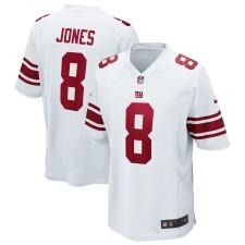 Hombres De Nueva York Giants Daniel Jones Nike Blanco Juego Camisetas