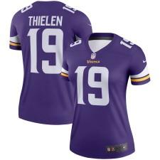 Adam Thielen Minnesota Vikings Nike Mujer Leyenda Camisetas - Púrpura