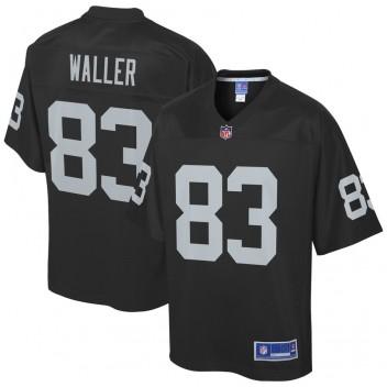 Darren Waller Oakland Raiders NFL Pro Line Team Jugador Camisetas - Negro