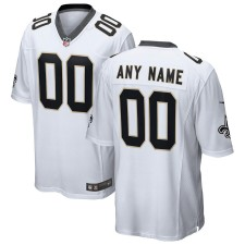 Camiseta New Orleans Saints Nike Custom Juego - Blanco