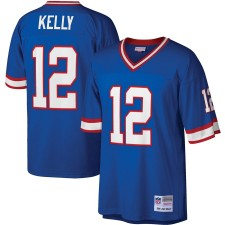 Mitchell & Ness Jim Kelly Buffalo Bills Royal Legacy réplica Camisetas