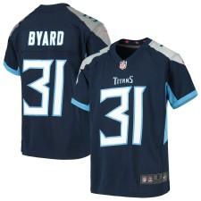 Kevin Byard Tennessee Titans Nike Juventud Juego Camisetas - Marina